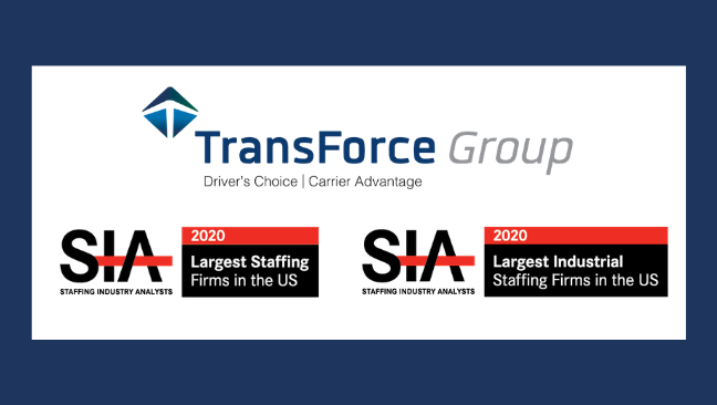 TransForce, Inc. Named to SIA's Largest US Staffing Firms List for the Sixth Consecutive Year