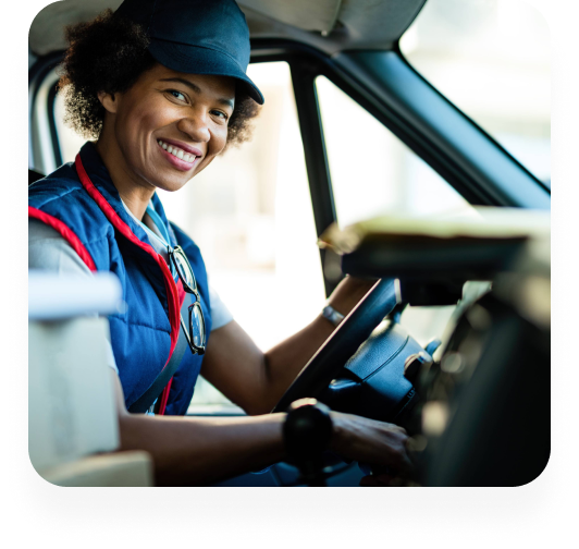 Largest network of CDL drivers